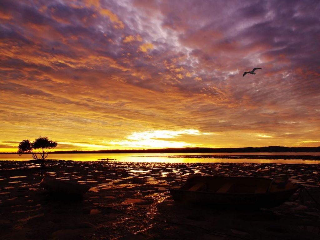 Holiday Accommodation Gympie - sunset