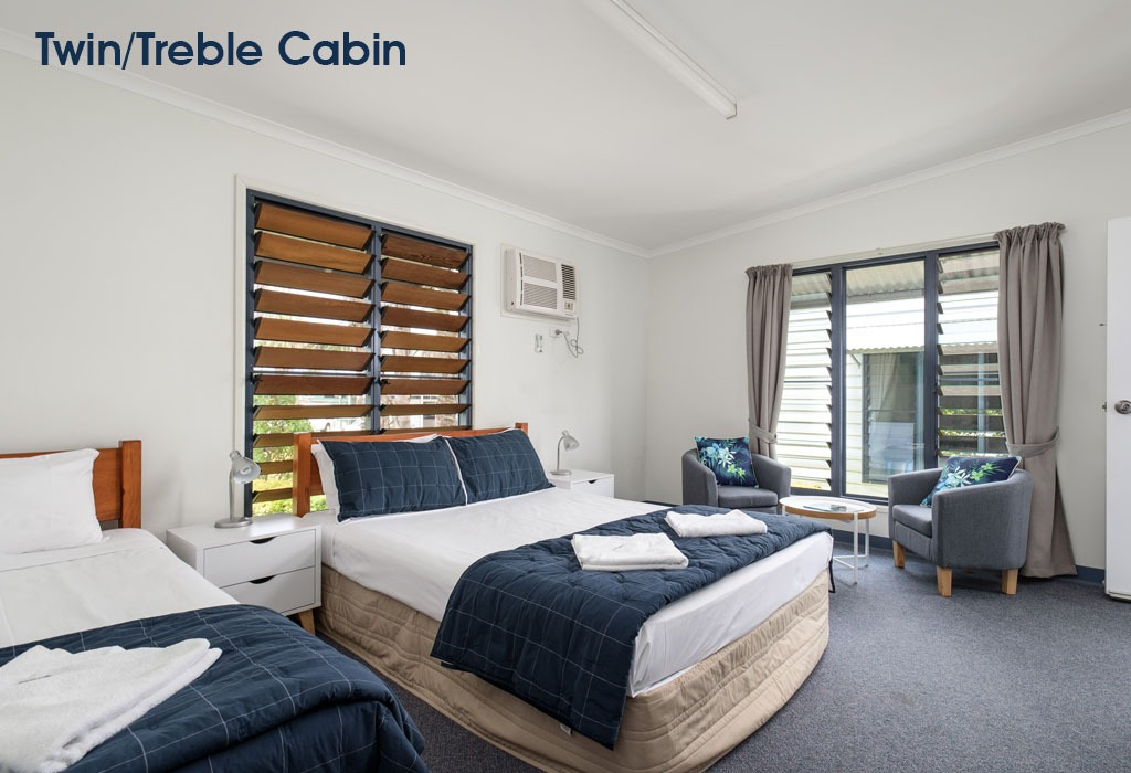 Tin-Can-Bay-Accommodation-Twin:Treble-Cabin