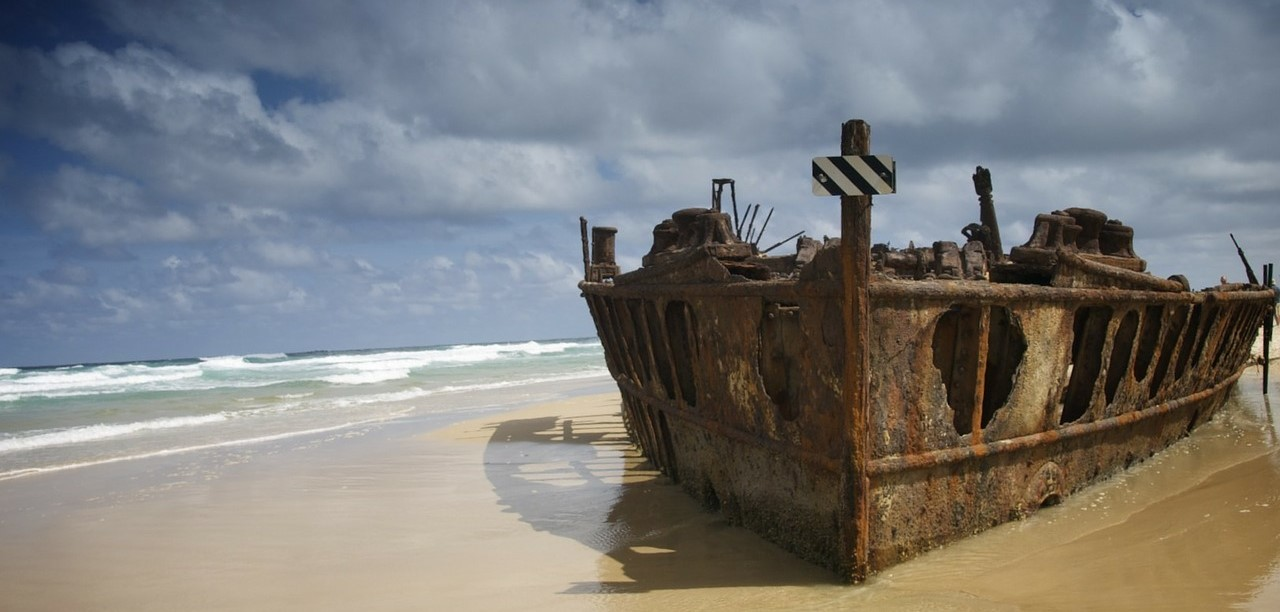 Beach Accommodation Gympie - shipwreck