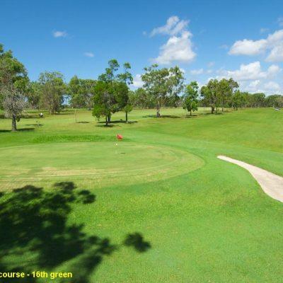 tin can bay golf club golf field